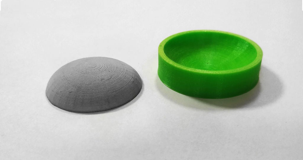 Picture of 3D Printed Molds / Flexible Filament