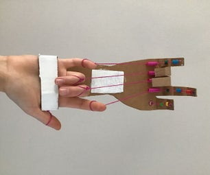 Cardboard Robot Hand