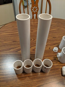 Cut the PVC Pipes to Size