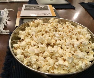 How to Make Very Tasty and Simple Popcorn