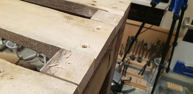 Clolsing the Gaps Between the Boards on the Topside