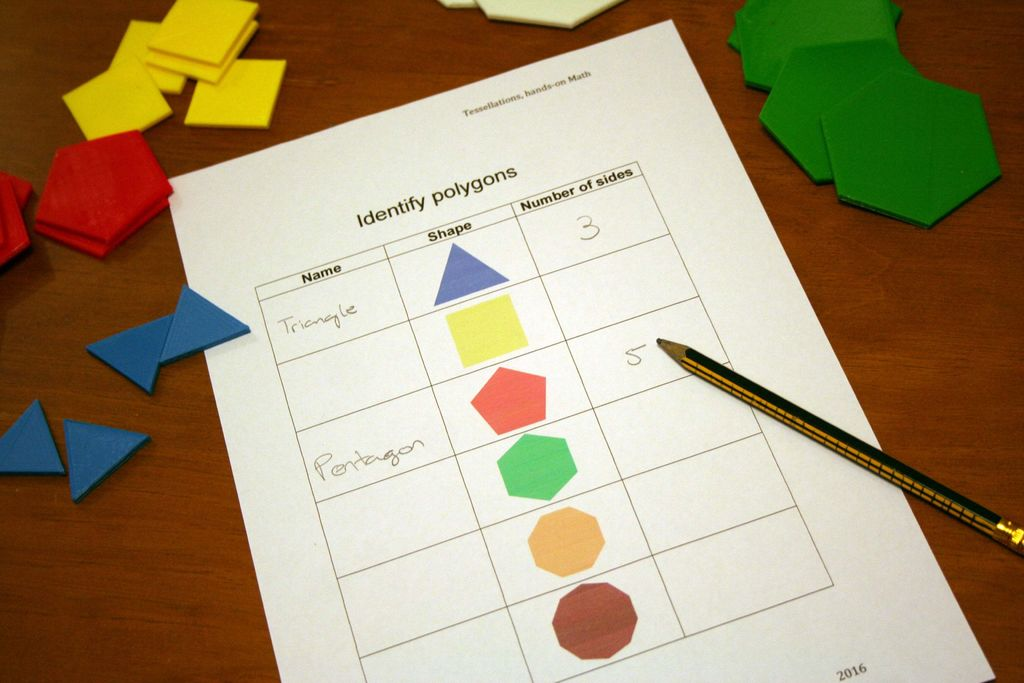 Picture of Classroom Activity - Identify Polygons
