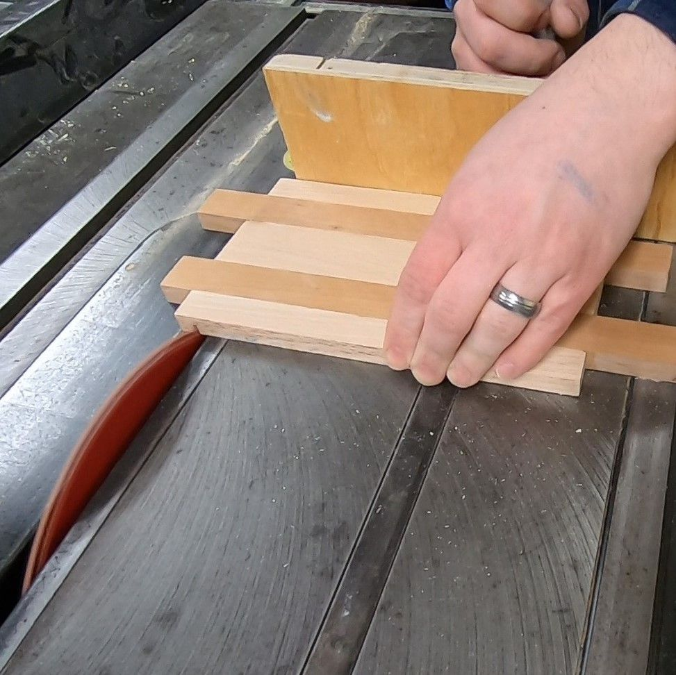 Picture of Cut the Piece to Final Height