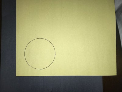Trace and Cut Out Nine Paper Circles