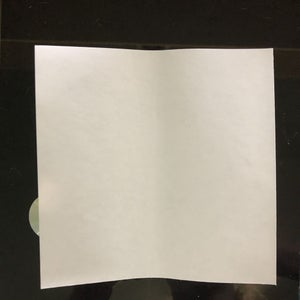 Begin With One Sheet of Paper, White Side Up