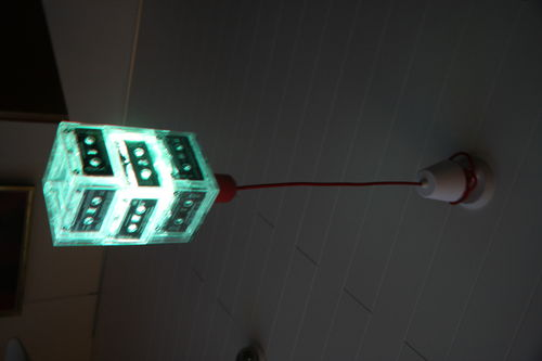 Hanging Retro Cassette Led Lamp
