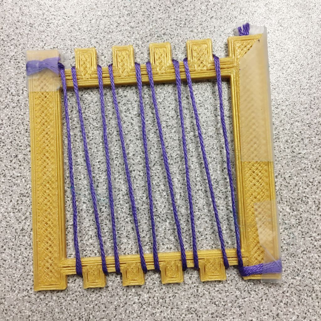 Picture of Warping the Loom