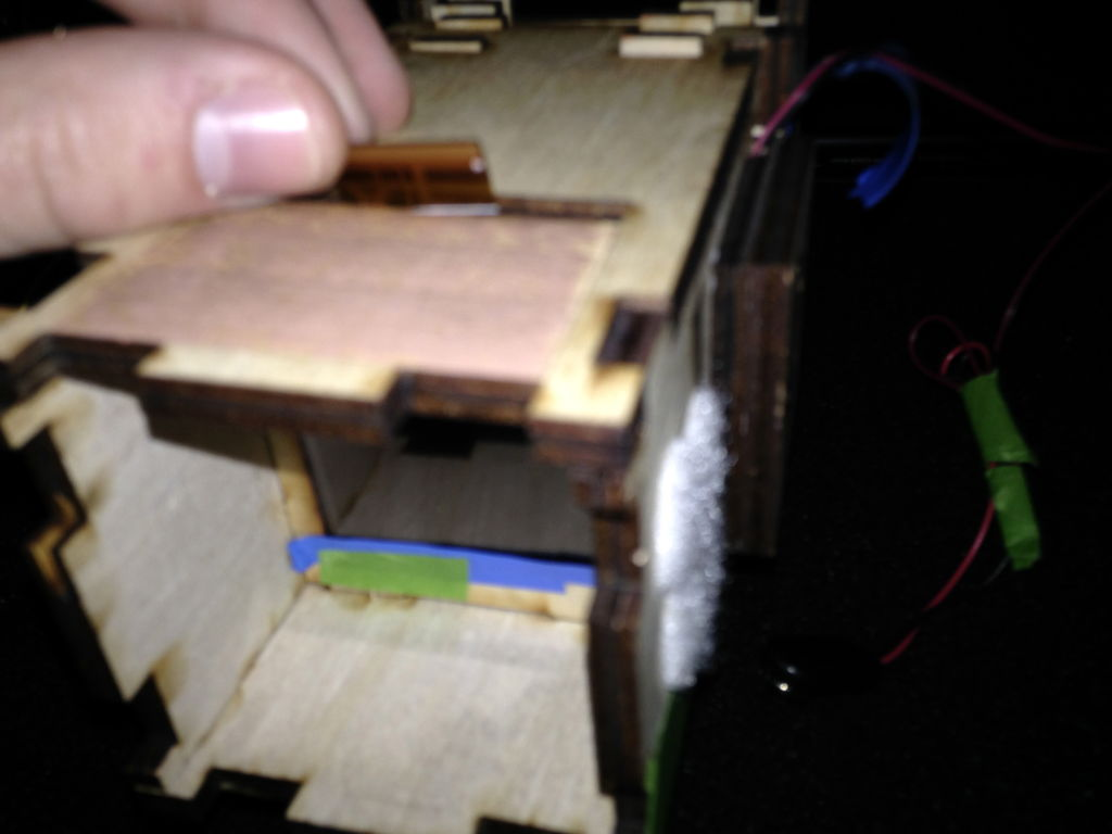 Picture of Inserting LCD Panel