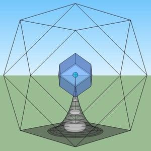 Low Earth Orbit Water Column Concept