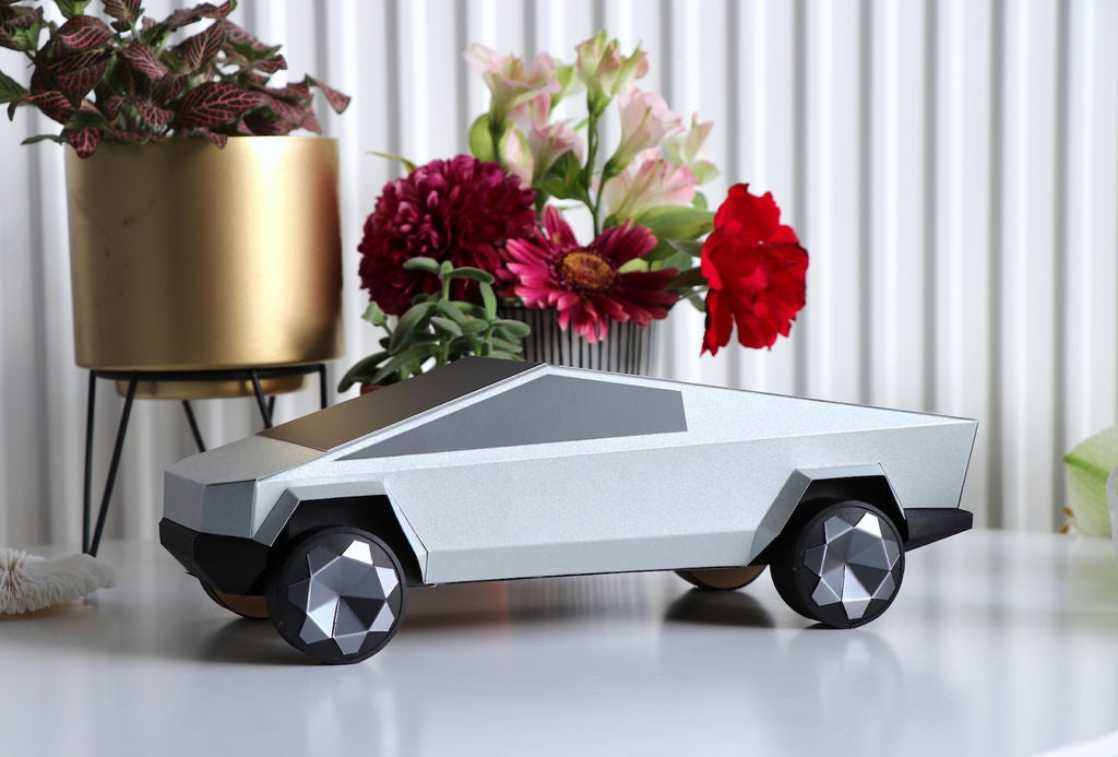 Tesla Cybertruck DIY Made of Paper! :): 7 Steps (with ...