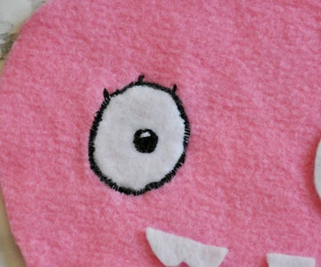 Embroidery - Eyes