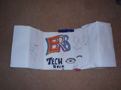 Tech Deck Pipe