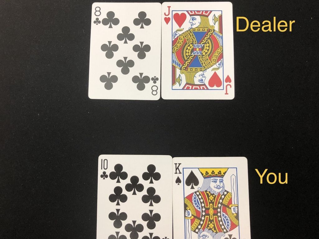 Picture of Revealing of Dealers Cards