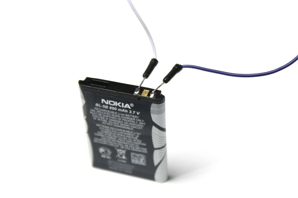 Picture of Initial Battery Charge