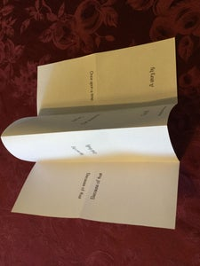 Here Is How You Fold the Paper and Create the Book