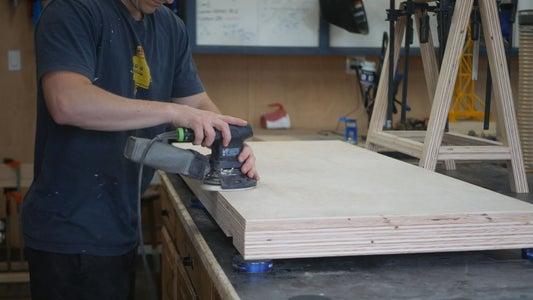 Final Sanding + Prep for Finishing