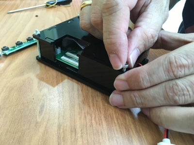 Assemble the AV Monitor Driver Enclosure