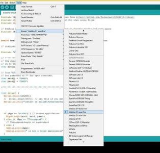Load BackpAQ Firmware Using Arduino IDE