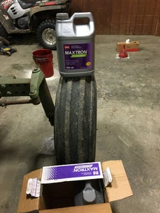 Put Oil Back Into Tractor