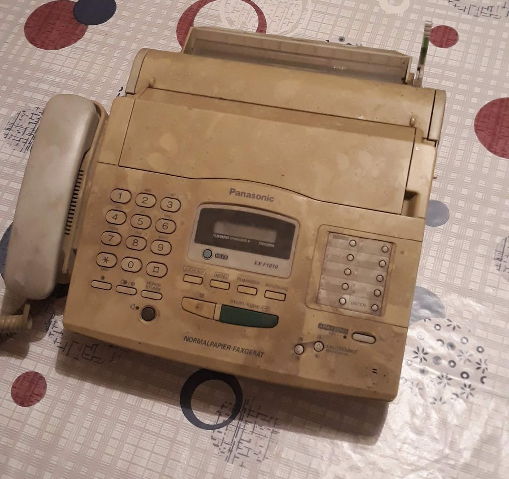 Picture of Fax Machine: Explaining Parts and What Is Worth Salvaging