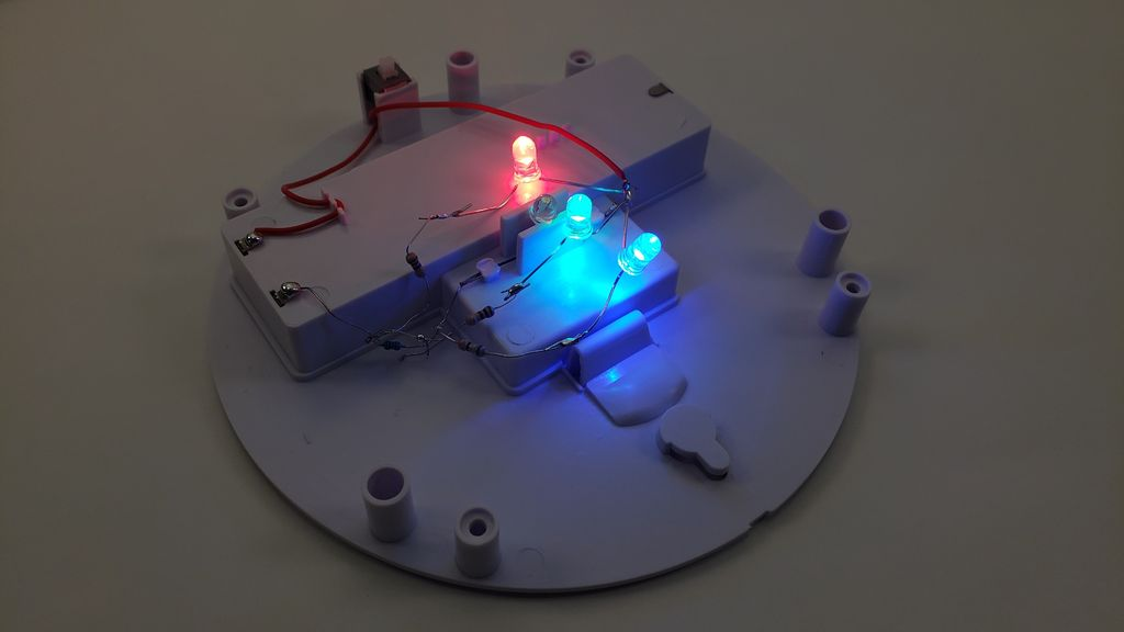 Picture of Mixing Different Color LEDs