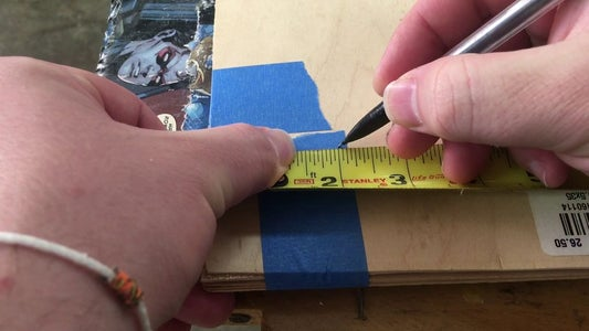 Cut Strips to Rough Width and Length