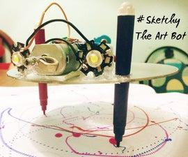 Mr.Sketchy : the Art Bot !!