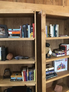 Build and Finish the Shelves