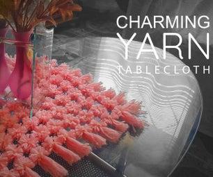 Charming Yarn Tablecloth