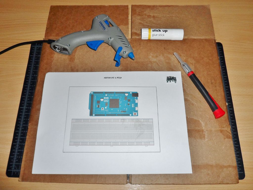 Picture of Gluing & Cutting