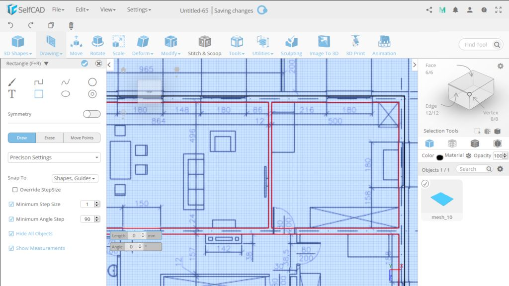 Picture of Draw Partition Walls
