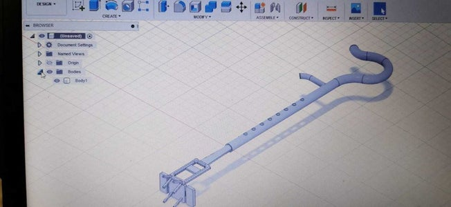 Using Autodesk Fusion 360 to Create the Design