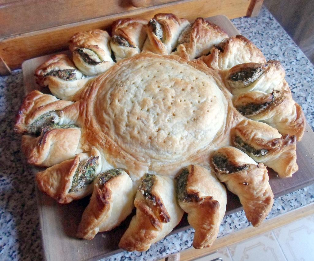 Sunflower Spinach Pie Recipe