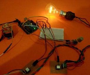 Arduino Based AC DIMMER Using TRIAC