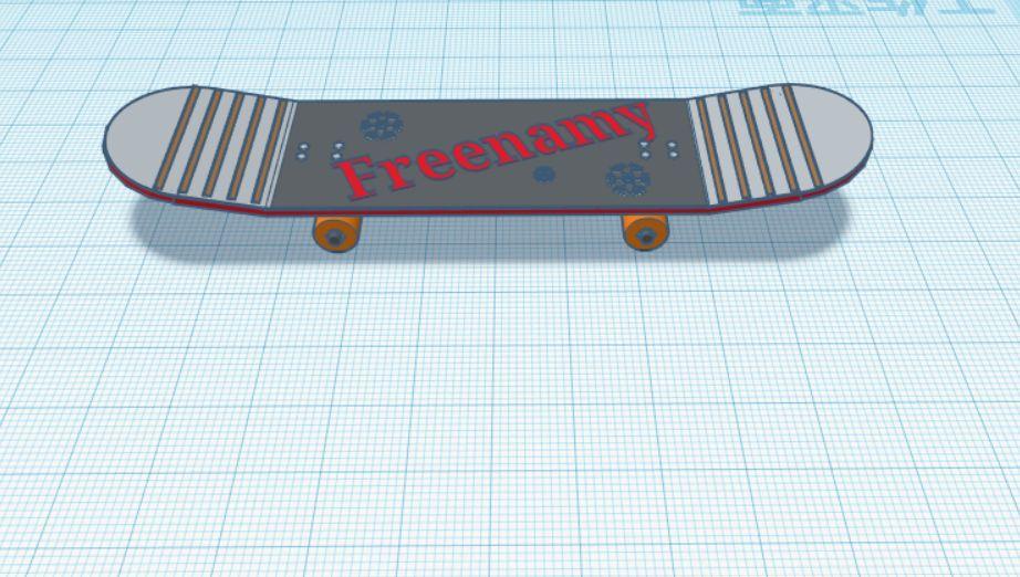 Picture of Freenamy's Skateboard