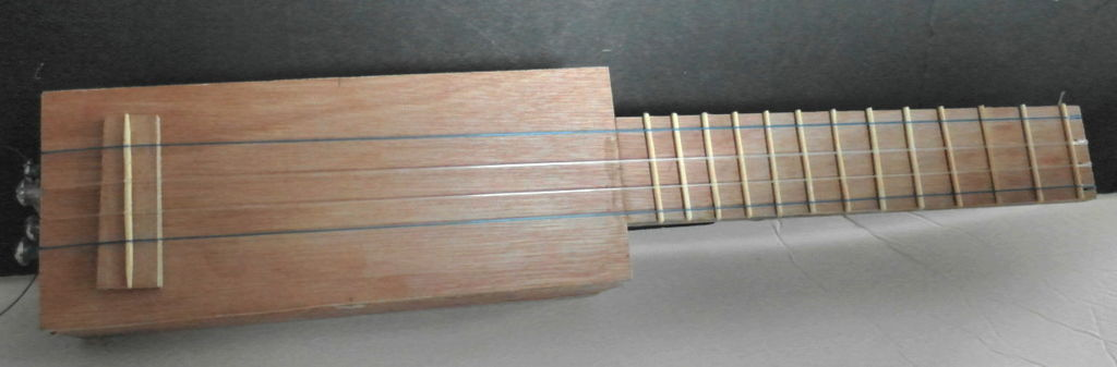 Picture of Sq'Ukulele - Make Plywood Ukulele From Hardware Store Items