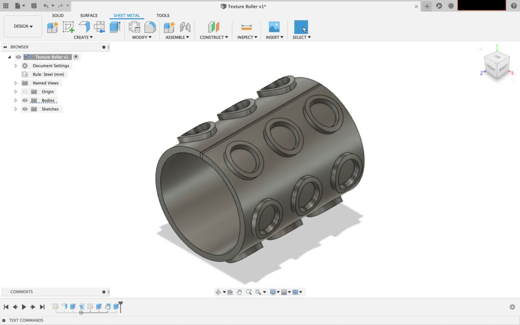 Picture of Finish the Roller Design
