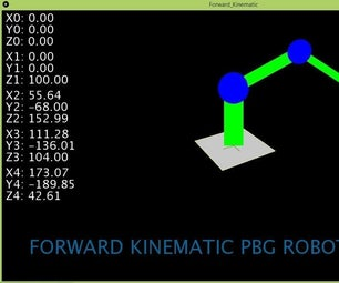 FK (Forward Kinematic) With Excel, Arduino & Processing