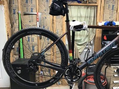 Installing Bike Into Maintenance Stand