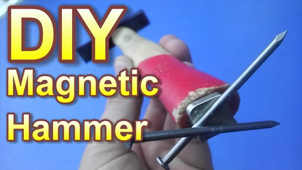 DIY Magnetic Hammer