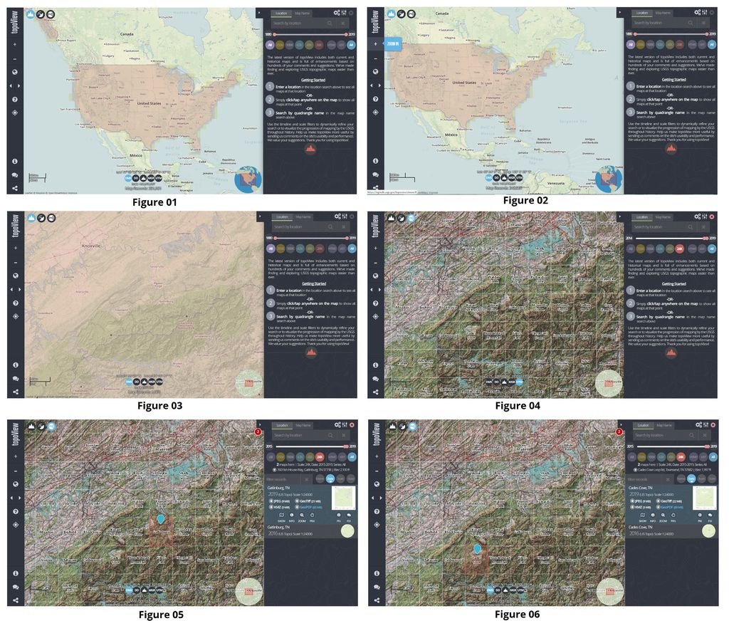 Picture of How to Download USGS TOPO Maps Using the USGS TopoView Application