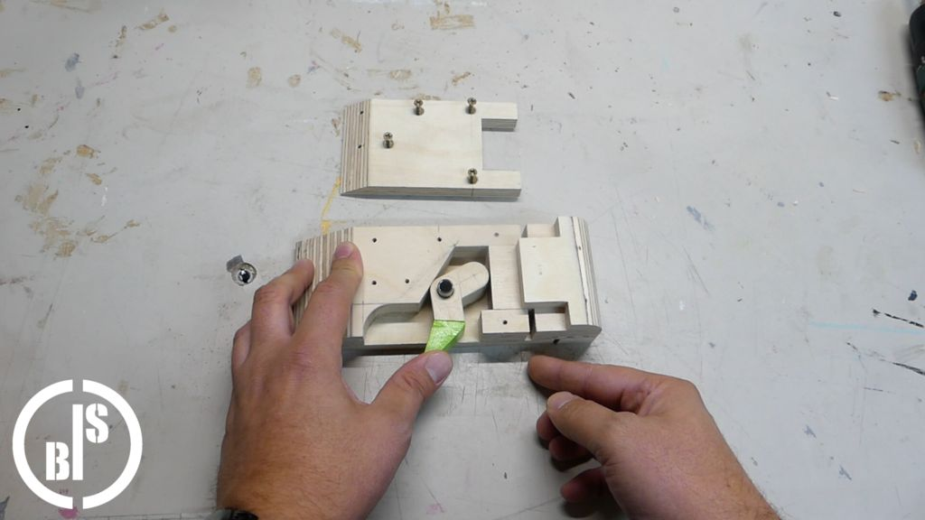 Picture of Bringing the Sanding Block Into the Final Shape