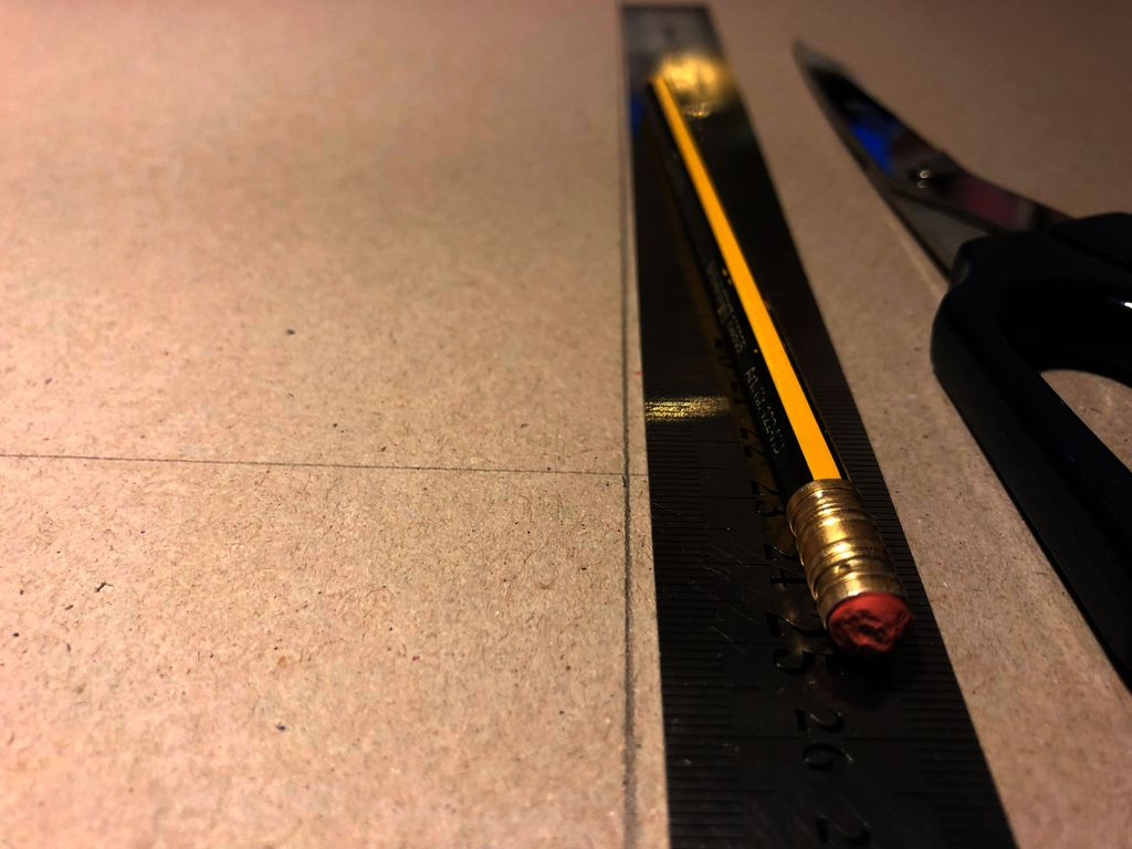 Picture of Measuring & Cutting.