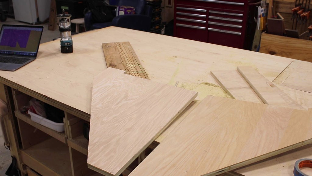 Picture of Cut Down the Plywood