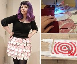 Fused Plastic Bag Skirt