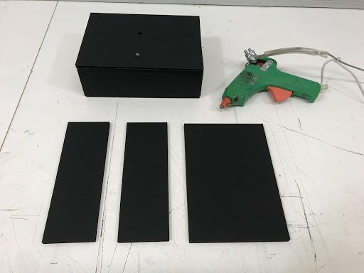Picture of 11/ a Cardboard Box Is Made to Store the Electronic Components