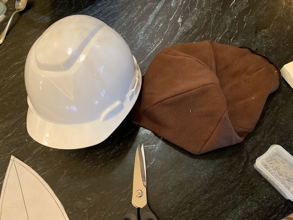 Picture of Cover Hard Hat With Fabric