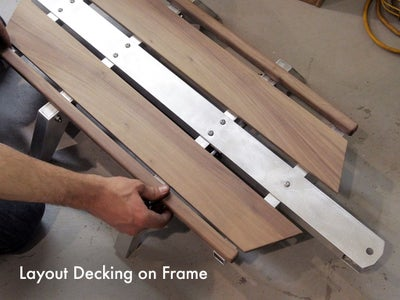 Attach the Decking to the Frame