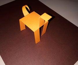 Paper Walking Robot Very Simple