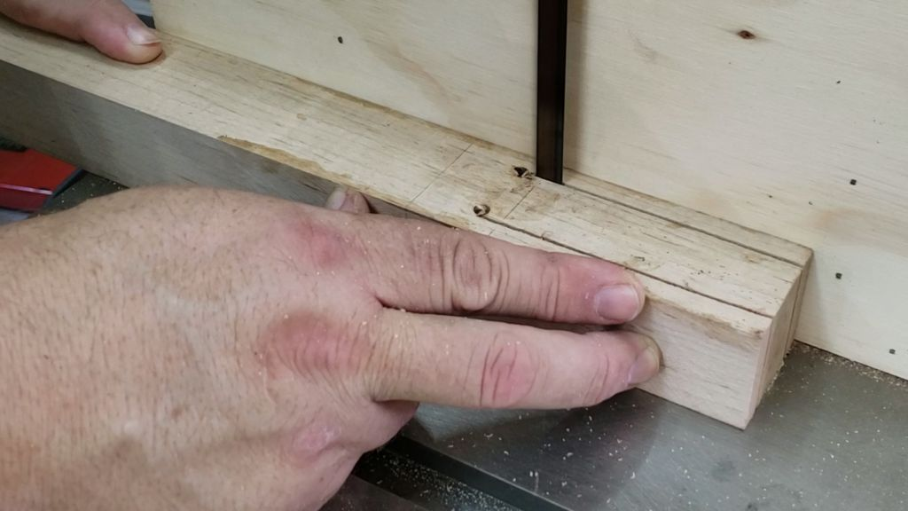 Picture of Drill Holes and Cut Slots